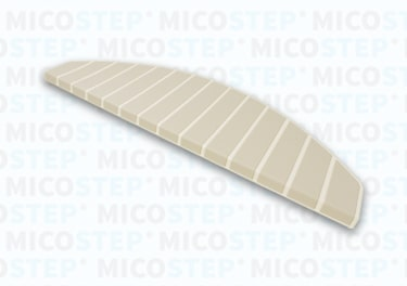 Micostep® trapmat Crème Wit – Bamboo