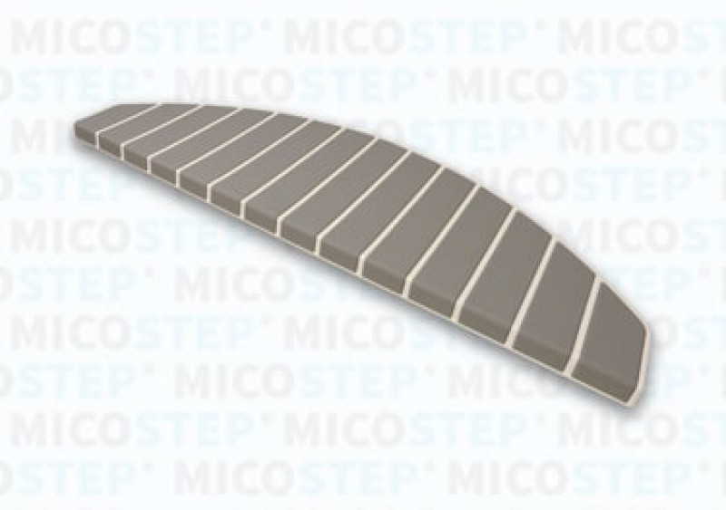 Micostep® trapmat Crème Wit – Warm Taupe