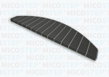 Micostep® trapmat Dusty Grey - Antraciet