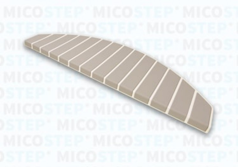 Micostep® trapmat Gebroken Wit Koel Taupe