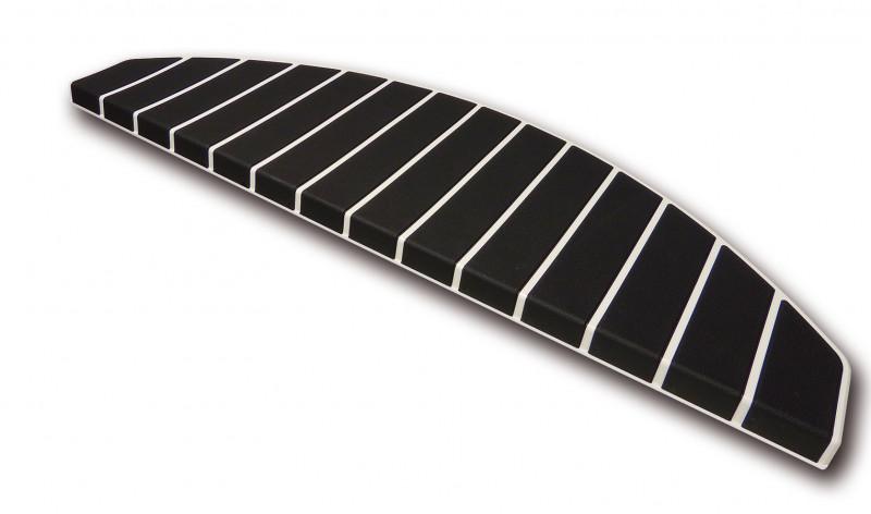 Trapmat Gebroken Wit – Zwart